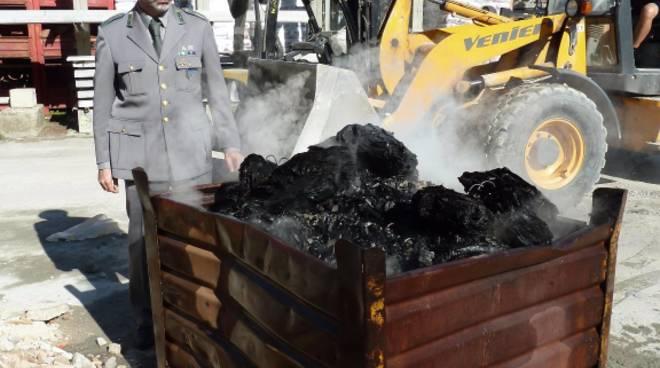 rifiuti bruciati