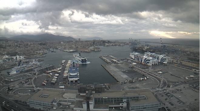 Terminal traghetti Genova