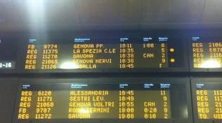 Treni in ritardo e cancellati