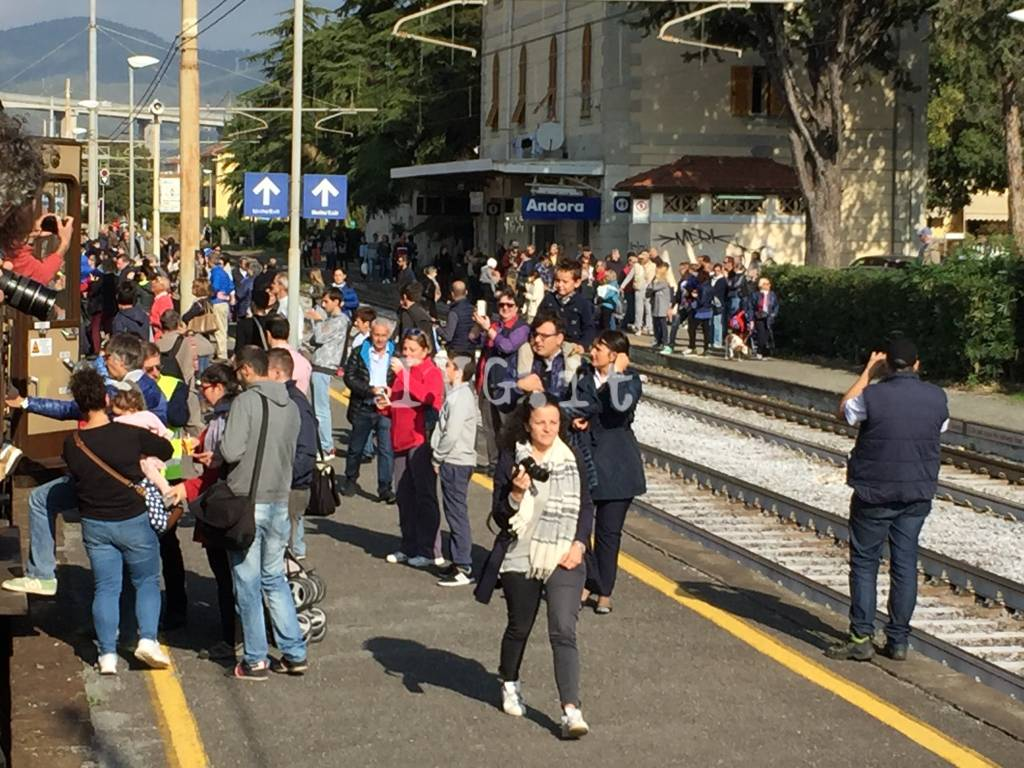 Treno storico ferrovie andora