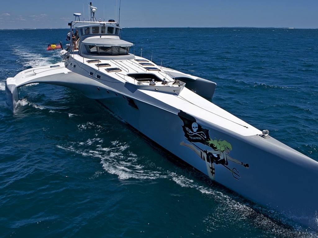 trimarano sea shephered