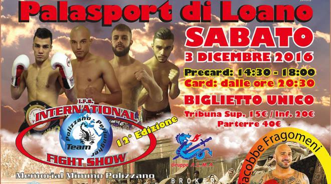 XII edizione dell'International Fight Show a Loano