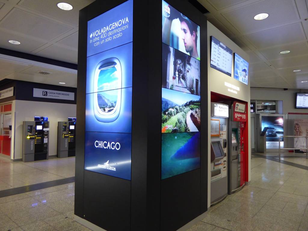 aeroporto maxischermo turismo
