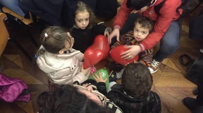 Asili nido e mense di Savona, la protesta delle mamme