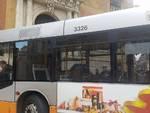 Sciopero Atp, bus davanti alla Prefettura