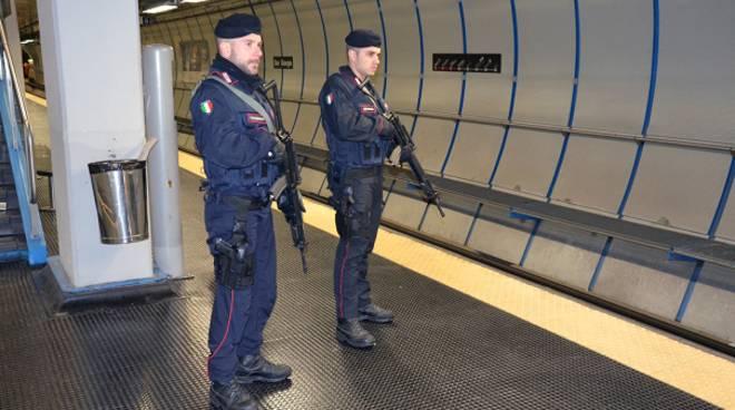 carabinieri antiterrorismo