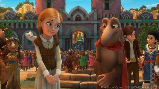 La Regina delle Nevi 2 esce al cinema il 17 e 18 dicembre!