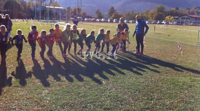 G.P. Provinciale Corsa Campestre 3^ gara - Boissano + di 250 partecipanti