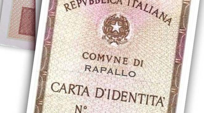 carta identità rapallo