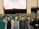 Chiusura dell'Aurelia: la protesta della minoranza di Sestri Levante