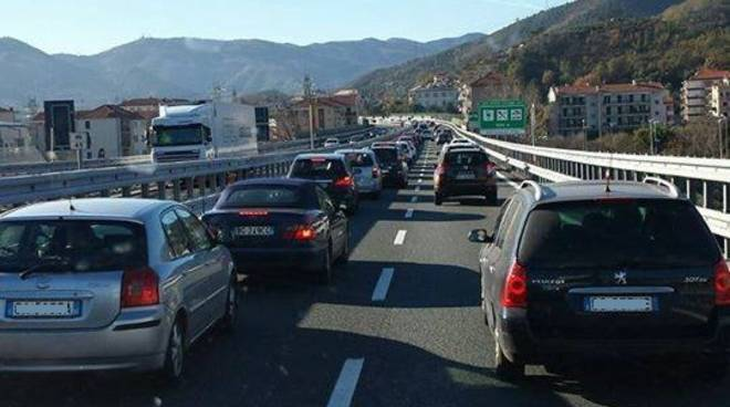 Traffico A10 Ponte Immacolata 2016
