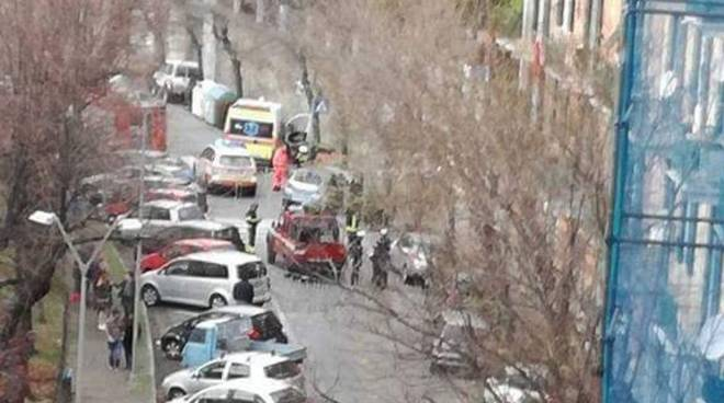 Incidente Via Verdi Savona