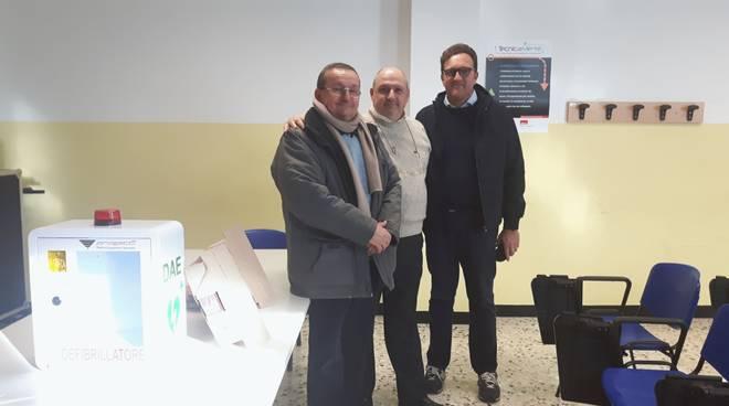 defibrillatore ISS Cairo Renzo Cirio