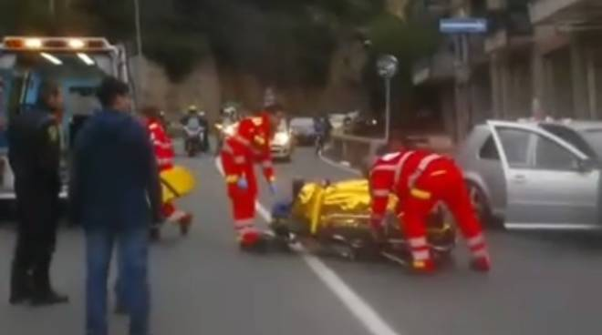 Incidente su Capo Santo Spirito a Borghetto