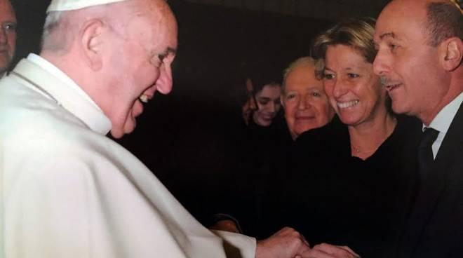 Incontro tra il presidente del Gaslini e Papa Francesco