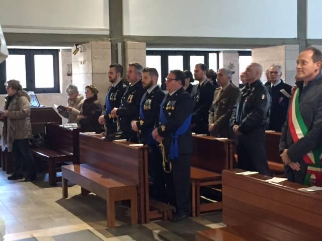 L'Aeronautica Militare festeggia la Beata Vergine di Loreto ad Andora