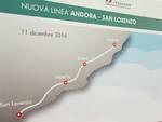 L'inaugurazione della nuova linea Andora-San Lorenzo