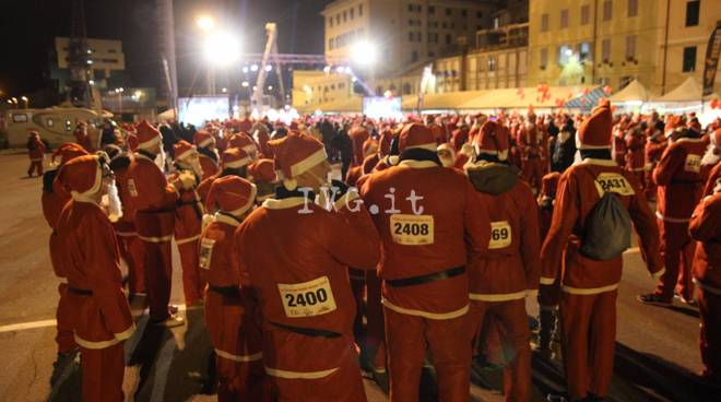 La Corsa dei Babbi Natale 2016