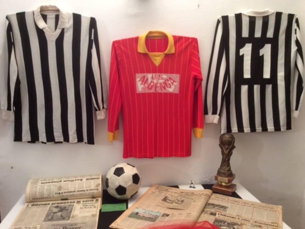 La mostra sull'Albenga Calcio