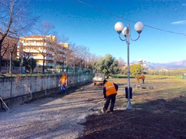 La nuova area cani di Albenga