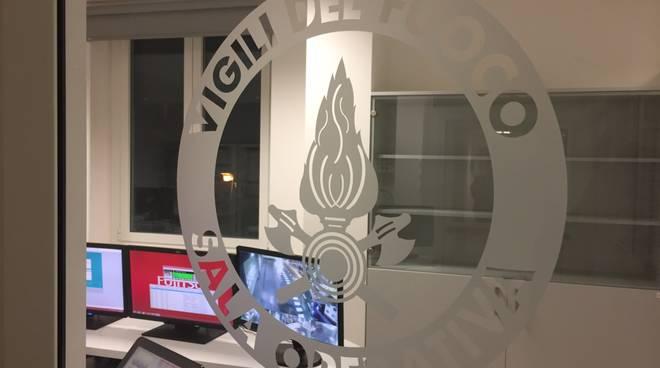 La nuova sala operativa dei vigili del fuoco di Savona