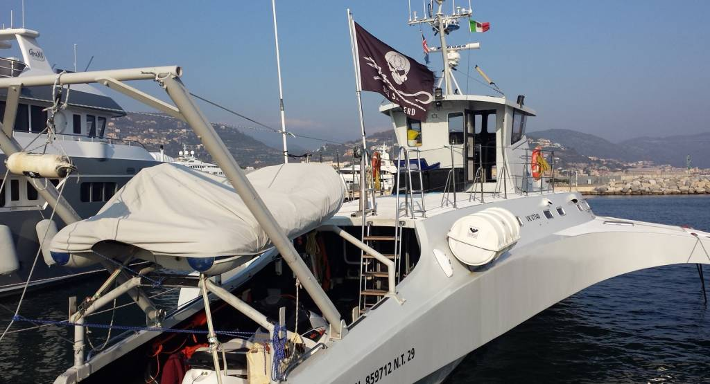 "La visita guidata a bordo della ""Brigitte Bardot"" di Sea Shepherd"
