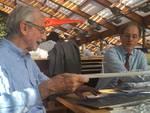 Paolo Emilio Signorini e Renzo Piano