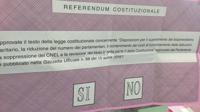 Referendum, caso matite non indelebili