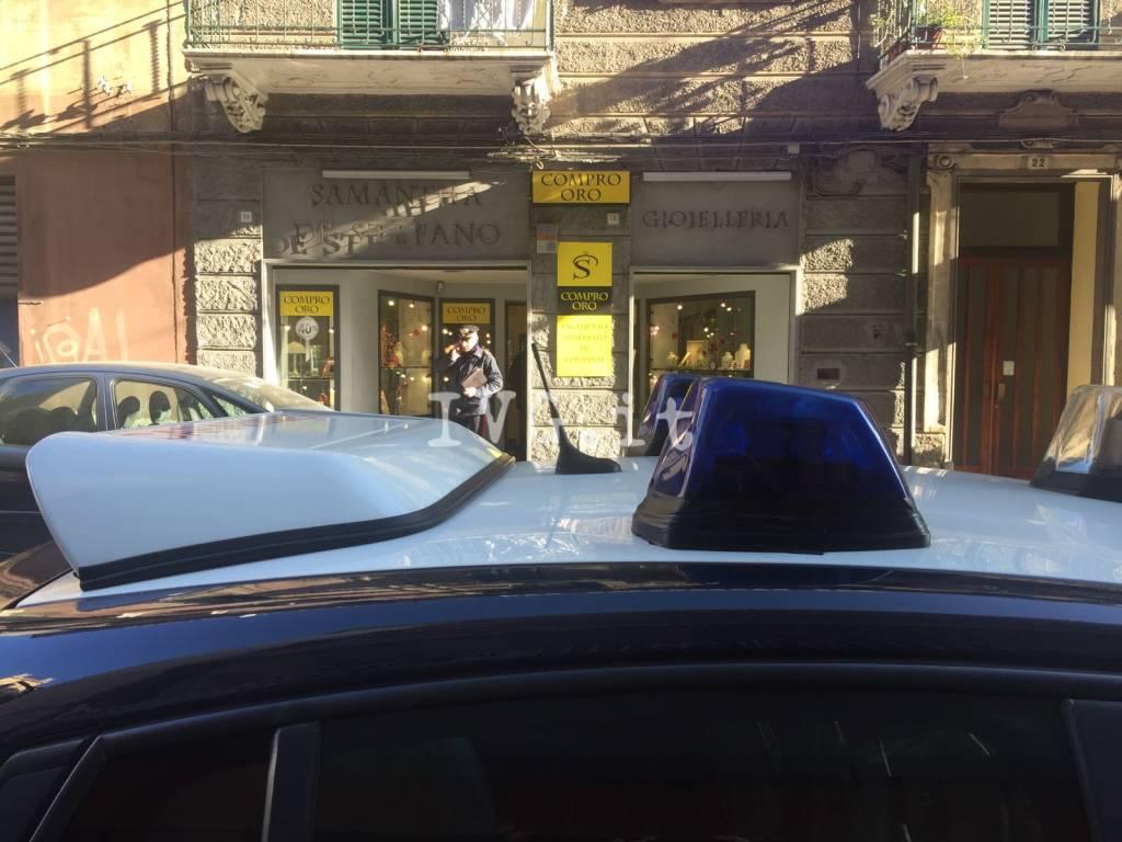 """Savona, rapina alla gioielleria """"De Stefano"""""""