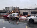 Scolmatore Bisagno: demolizione palazzine in piazza delle Americhe