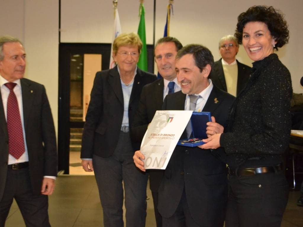 Stella di bronzo a Francesco Ciocca
