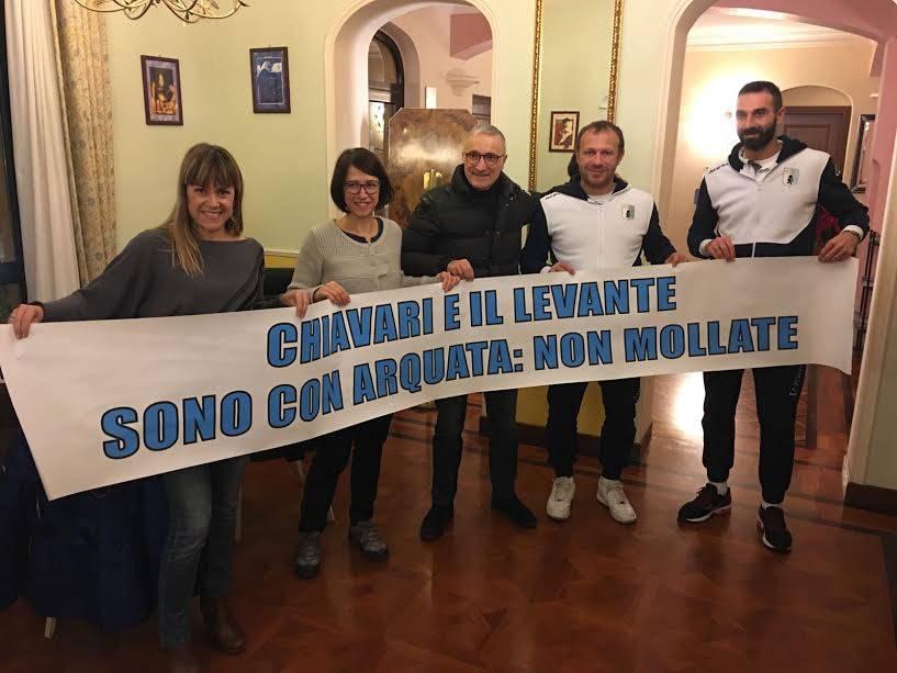 Terremoto: i sindaci del Levante in centro Italia