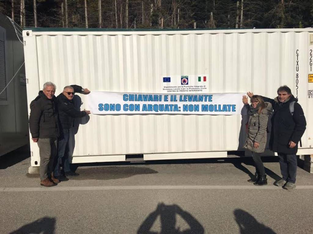 Terremoto: sindaci in missione in centro Italia
