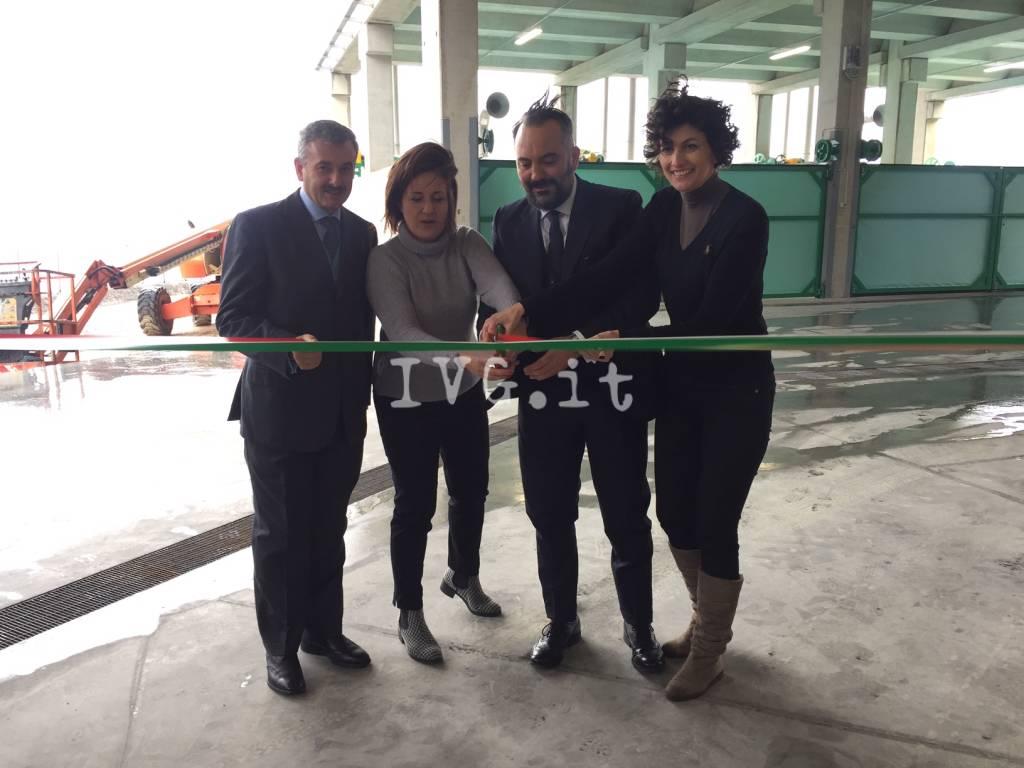 Vado, inaugurazione impianto TMB nella discarica del Boscaccio