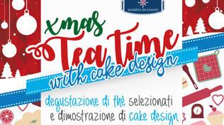 Xmas Tea Time & Cake Design allo Yacht Club Marina di Loano