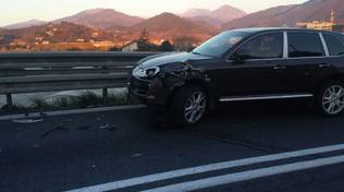 A10, incidente all'uscita di Albenga