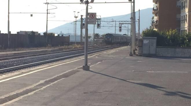 Allarme alla stazione ferroviaria di Pietra Ligure