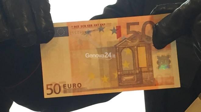 banconote false cocaina sampierdarena