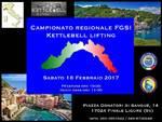 Campionato Regionale FGSI Kettlebell Lifting LIGURIA - Sabato 18 Febbraio 2017