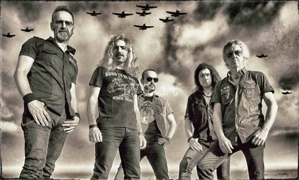 La storica band metal VANEXA in concerto a Savona