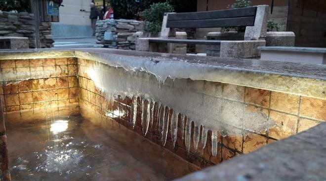 Freddo e ghiaccio a Torriglia