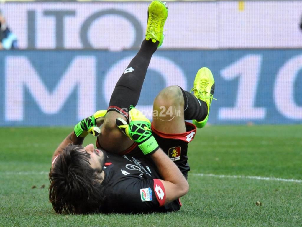 Genoa Vs Roma Serie A