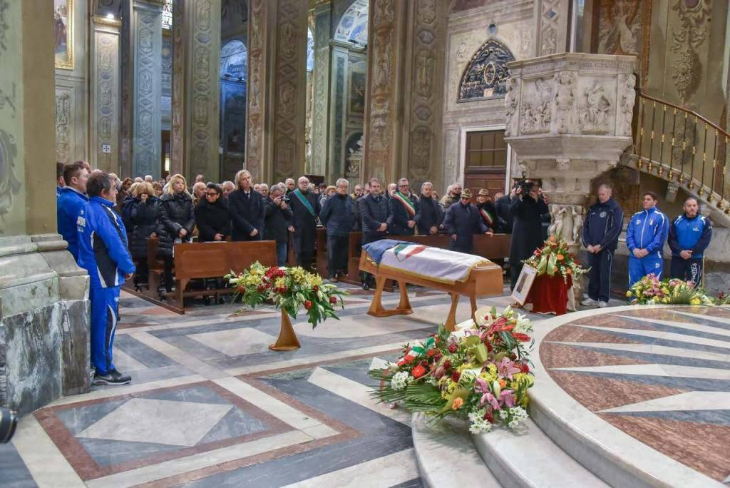 Il funerale di Lelio Speranza