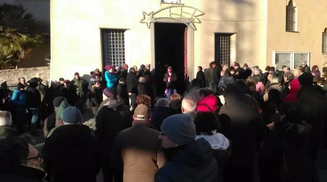 Il funerale di Pinuccio Rosso