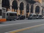 Il presidente dell'Ecuador arriva a Genova