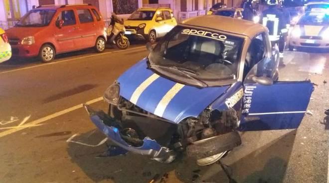 Incidente in via 5 Maggio