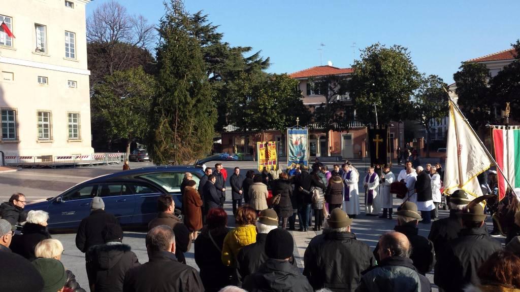 Loano, i funerali di Francesco Gallo