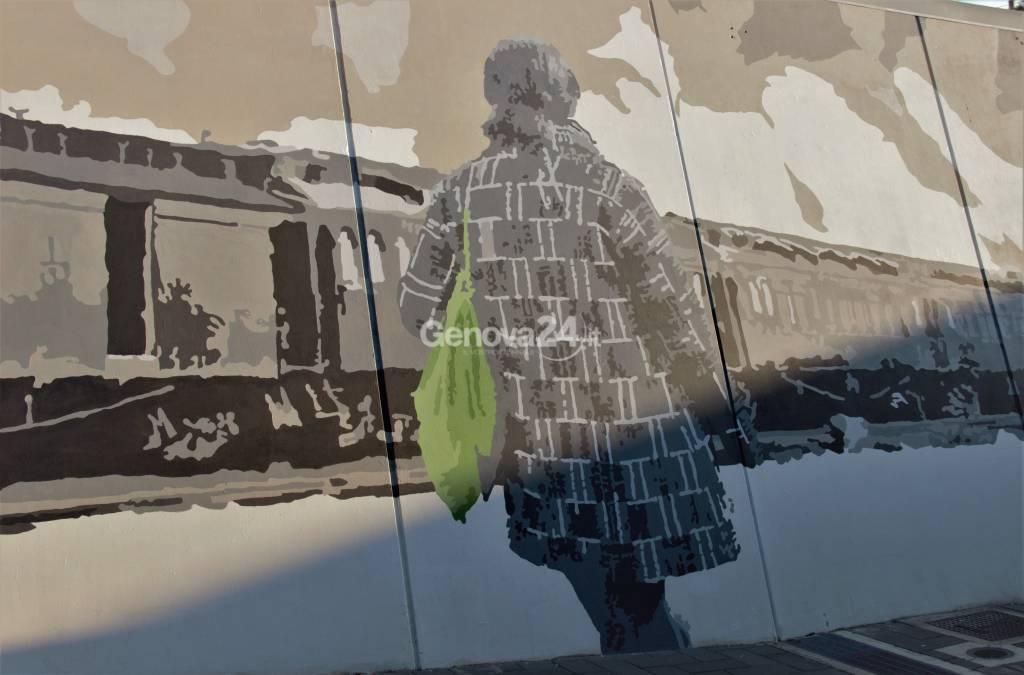 murales stazione di prà