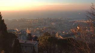 panorama genova righi (foto da centrometeoligure.it)