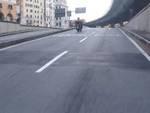 prova strada buche scooter
